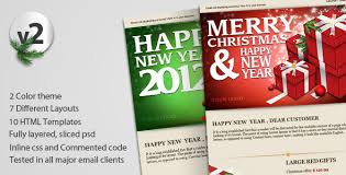 new year email template exclusive christmas newsletter 25 best