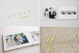 Custom Wedding Album Albums Lucida Photography