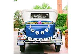 wedding car decorations top 10 best just married wedding car decorations heavy