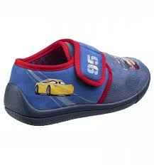 cars characters yellow characters cars slipper blue red kids boys footwear treds