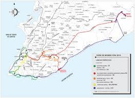 Vasco Da Gama Route Map by Mobilidade Urbana Salvador Brazilian Government Website On The