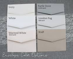 stationery envelopes a2 4x5 envelopes for notepads or stationery pack of 25