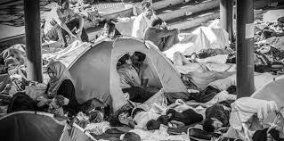 baisee dans sa cuisine le baiser des réfugiés syriens le cliché émouvant qui fait le