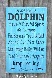 themed signs decor wall rustic signs dolphins bathroom bedroom