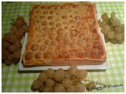 la cuisine d amandine tarte amandine aux raisins blanc au thermomix ou sans la cuisine