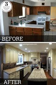 renovated kitchen ideas before after 3 unique kitchen remodeling projects kitchens