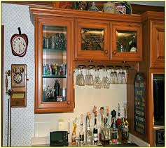 Glass Inserts For Kitchen Cabinet Doors Black Kitchen Cabinets With Glass Inserts Video And Photos