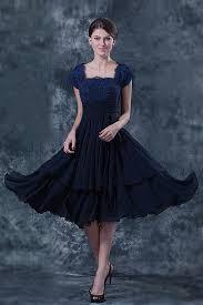 robe pour maman du mariã elégante robe dentelle bleu pour mère de mariés à mancherons