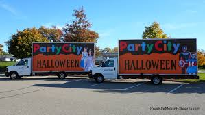 party city halloween great mobile billboard art