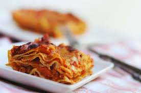 a traditional lasagne recipe and dinner with lean
