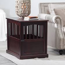 newport pet crate end table have to have it newport pet crate end table 124 99 hayneedle