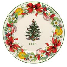 spode tree 2017 8 inch annual collector plate spode usa