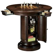 small round game table howard miller ithaca pub table wine enthusiast stylish small game
