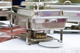 how to set a buffet table with chafing dishes catering linens everything you need to know