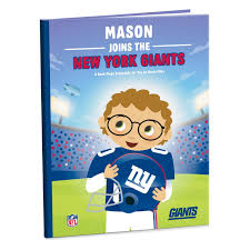 new york giants nfl football personalized book personalized