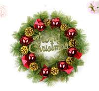 Christmas Wreath Decorations Wholesale by Wholesale Christmas Wreath Buy Cheap Christmas Wreath From