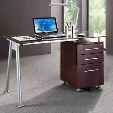 techni mobili double pedestal laminate computer desk chocolate 22 best computer desks images on pinterest computer desks office