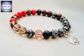 crystal bracelet designs images Root chakra crystal bracelet jpg