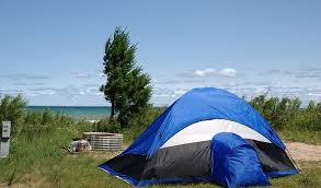 Island Beach State Park Map by Coastal Camping On Lake Michigan And Beyond Mynorth Com