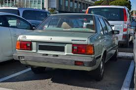 nissan datsun 1983 endangered species nissan datsun sunny b11 ran when parked