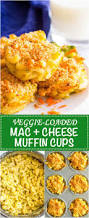 veggie mac and cheese muffins family food on the table