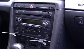 audi a4 2004 radio audi a4 2002 2008 radio removal radiodashkits car stereo