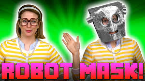 robot mask crafts for kids w crafty carol at cool youtube