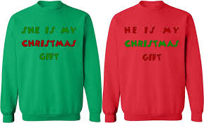 matching christmas sweaters for couples