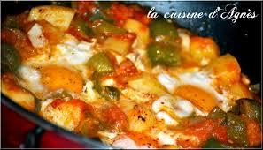la cuisine juive tunisienne chakchouka la cuisine d agnèsla cuisine d agnès