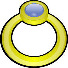 band gold free vector graphic rings band gold diamond gem free image