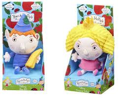 talking ben elf holly princess plush soft toy ben hollys