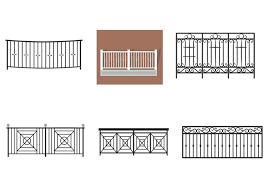 balcony rail vectors download free vector art stock graphics