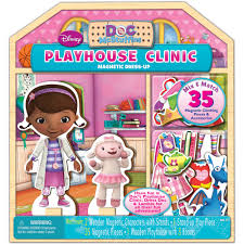 Doc Mcstuffins Home Decor Doc Mcstuffins Wooden Magnetic Playhouse Walmart Com