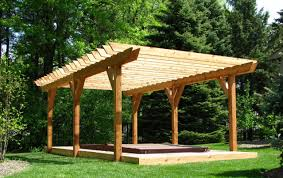 pergola amazing building a roof over a patio design wonderful