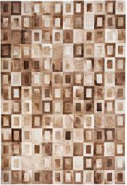 Leather Area Rugs Light Brown Rugs Creative Rugs Decoration