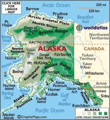 map of alaska cities alaska map map of alaska geography of alaska worldatlas com