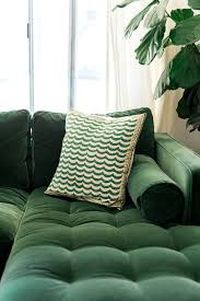 my new green sofa the house that lars built