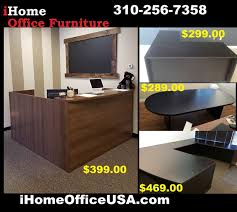 tons of office furniture items desks tables chairs reception