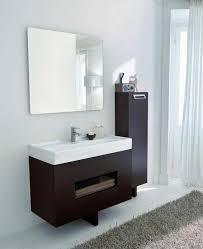 designer bathroom vanities contemporary bathroom vanities and cabinets modern with walnut