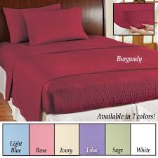 Are Microfiber Sheets Comfortable Bed Tite Soft Microfiber Sheet Set From Collections Etc