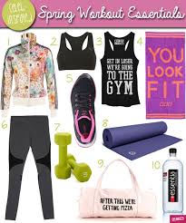 10 Must Fitness Gear Essentials by Fitness Fashion For The Workout Celebuzz