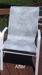 Replacing Fabric On Patio Chairs Customer Diy Slings