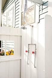 How To Plumb An Outdoor Shower - outdoor living outdoor shower