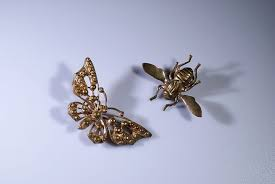 hair brooch design hair brooches insect design 2 creative museum