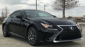 lexus black 2016 2016 lexus rc 200t f sport full review start up exhaust youtube