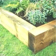 Timber Garden Edging Ideas Landscape Timbers For Garden Edging Landscape Timber Border Wooden