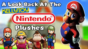 a look back at the kellytoy nintendo plushes youtube