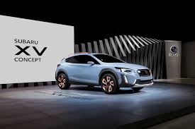 subaru concept 2017 geneva show subaru xv uncovered goauto