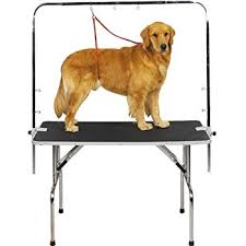 large dog grooming table amazon com giantex 36 pet grooming table professional home