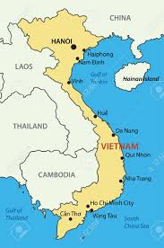 Map Of South China Sea by Socialist Republic Of Vietnam Vector Map Royalty Free Cliparts